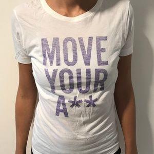 White Nike Slim Fit Graphic T-Shirt